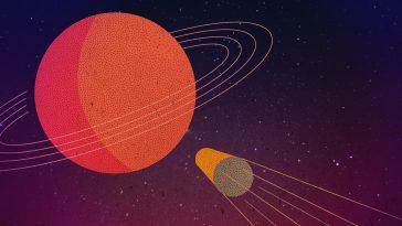 Η τελευταία βουτιά του διαστημικού σκάφους Cassini