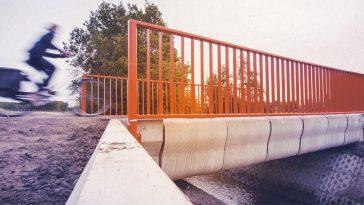 Η πρώτη γέφυρα που κατασκευάστηκε σε 3D printer