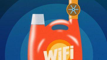 Πλαστικά χωρίς ηλεκτρονικά μέρη συνδέονται στο Wi-Fi