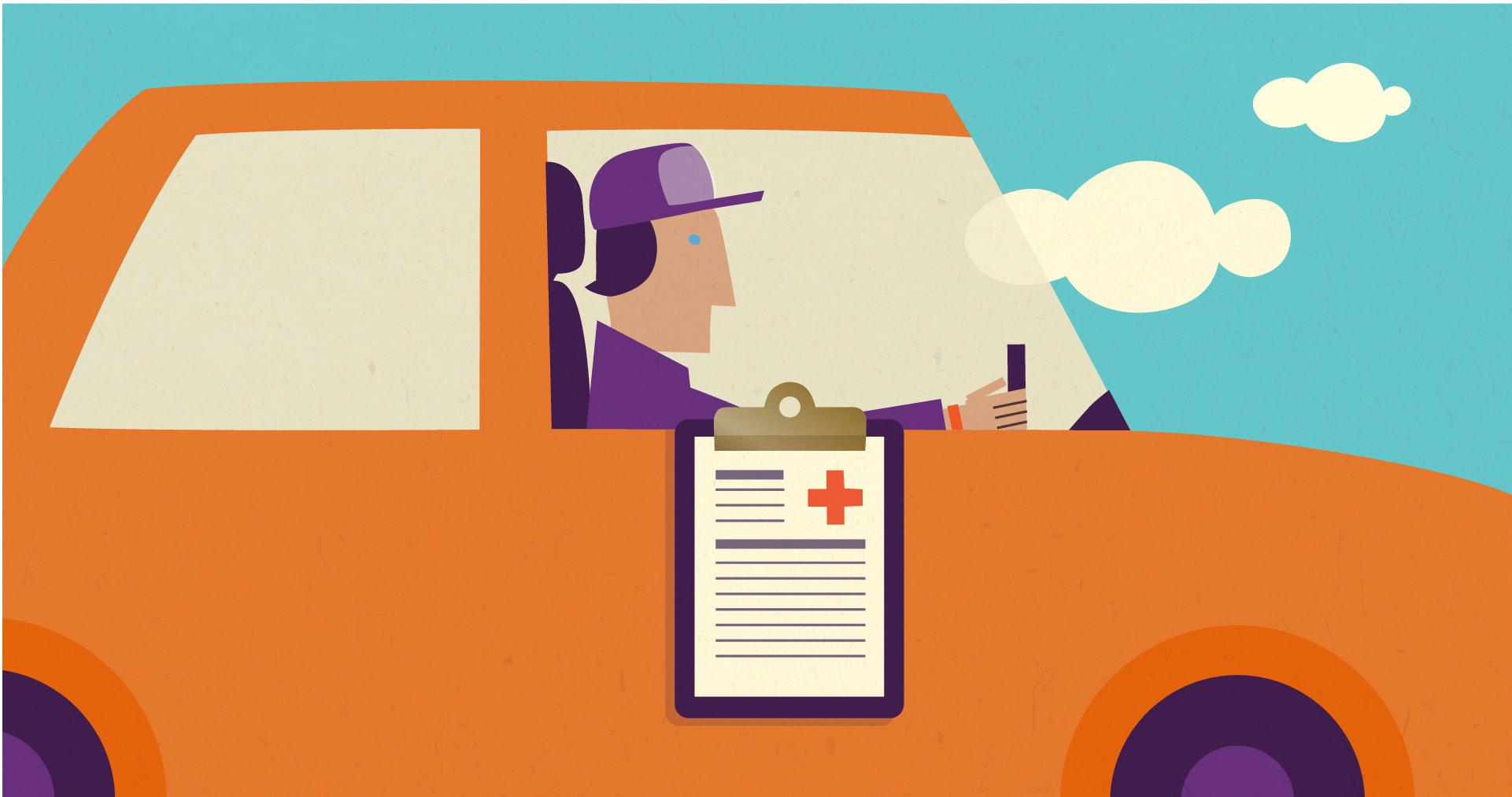 Ασφαλέστερη οδήγηση με συνοδηγό έναν (εικονικό) γιατρό