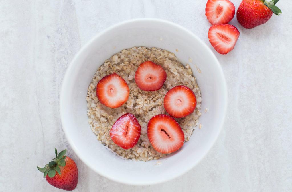 oats-strawberries
